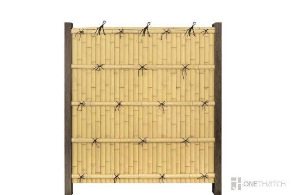 Искусственный бамбуковый забор - Kenninji Gaki - ONETHATCH