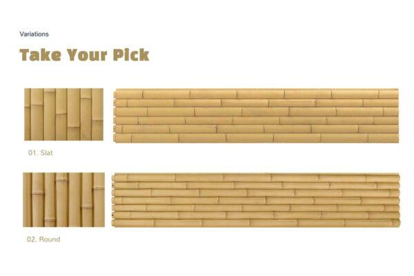 Pannellatura in bambù per pareti - ONETHATCH