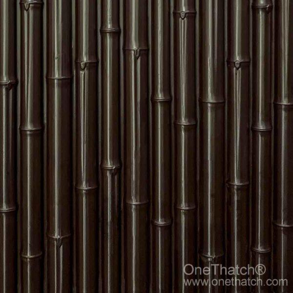 竹の壁のクラッディング