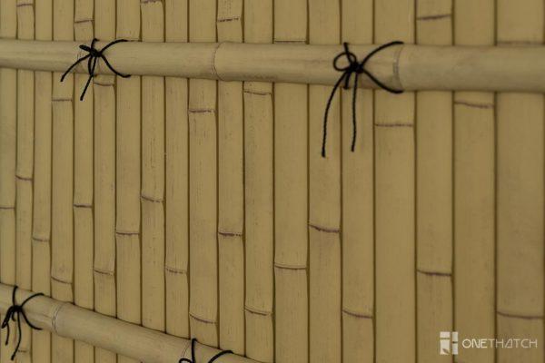 Детали бамбукового забора японца Kenninji Gaki - ONETHATCH