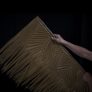 Anti Air OneThatch Palm Leaves Thatching Shingles untuk Tiki Hut - OneThatch