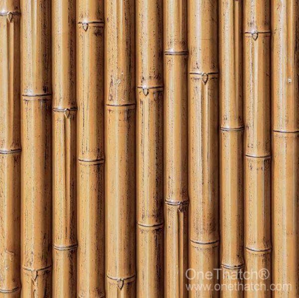 竹の壁パネル