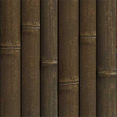 오래된 갈색 대나무 벽 패널 - ONETHATCH