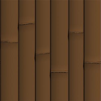 브라운 인공 대나무 장식 - ONETHATCH