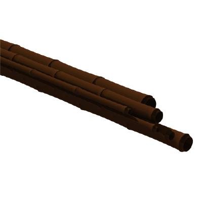 Poste de bambú sintético marrón oscuro - ONETHATCH
