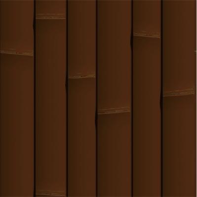 다크 브라운 대나무 인조 패널 - ONETHATCH