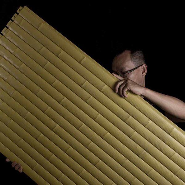 Eco-friendly bamboo slat panels - OneThatch