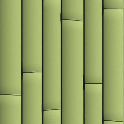 녹색 인공 대나무 장식 - ONETHATCH