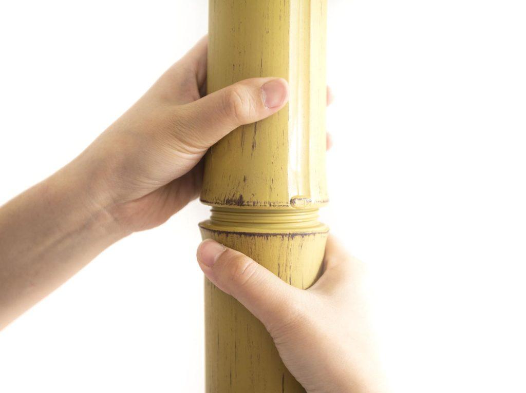 プラスチック製の竹のテクスチャ-ONETHATCH