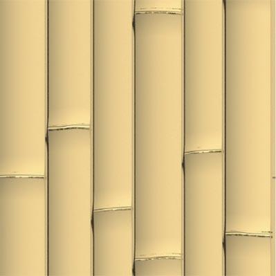 노란색 인조 대나무 패널 - ONETHATCH
