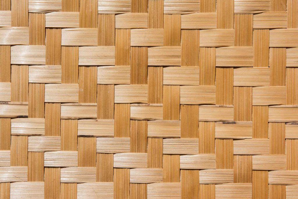 Synthetic Weave Bamboo Matting