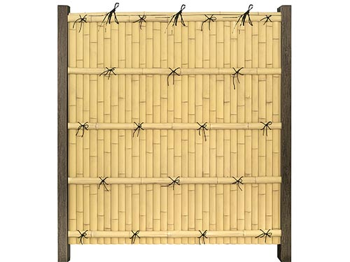 Kenninji Gaki Пластиковые ограждения из искусственного бамбука - ONETHATCH