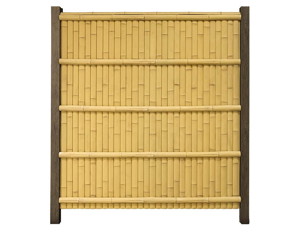 Kenninji Gaki Plastic Bamboo Fences - ONETHATCH