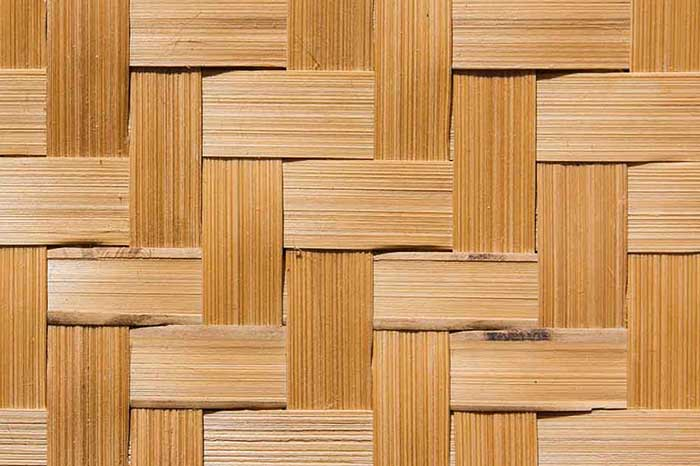 Sundried Bamboo Color Synthetic Matting - ONETHATCH