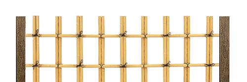 Искусственные бамбуковые заборы Yotsume-Gaki с четырьмя глазками - ONETHATCH
