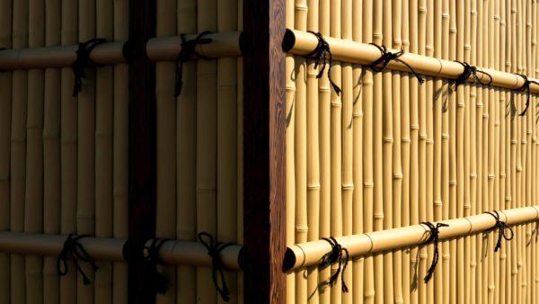 plastic Kenninji bamboo fencing-OneThatch