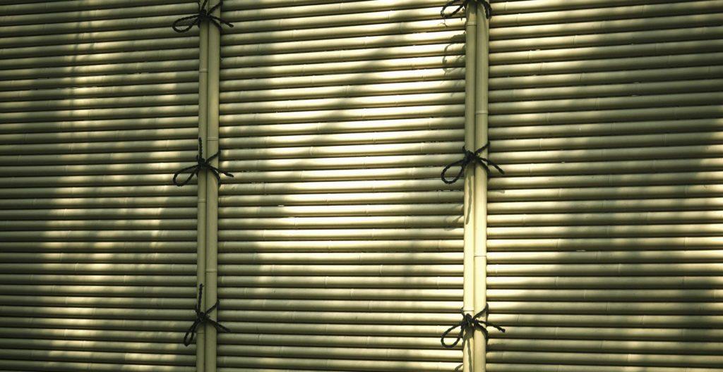 Cerca de tela de bambu sintético (Misu-Gaki)