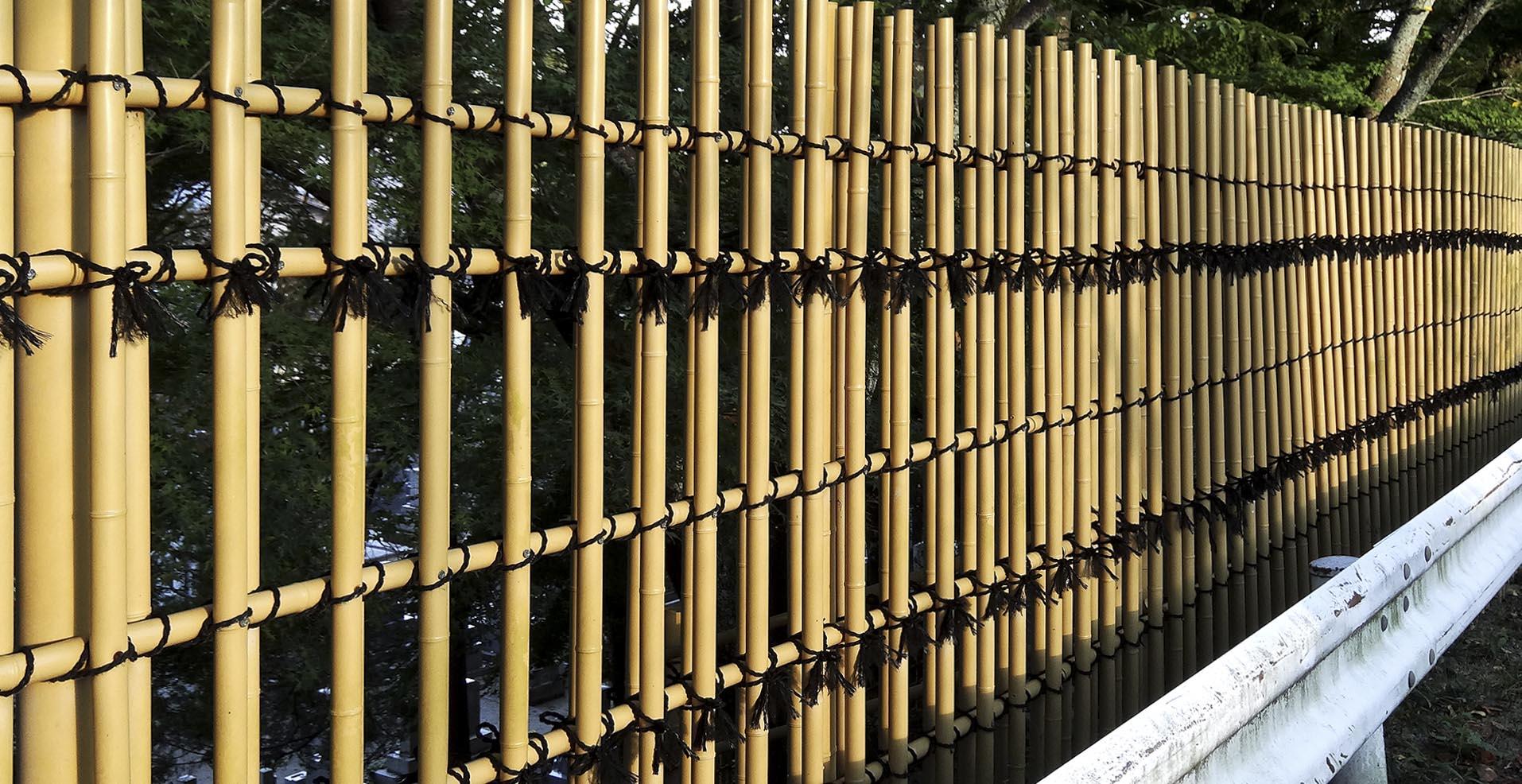 artificial bamboo screen