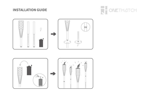 ONETHATCH TORCH INSTALLATION GUIDE