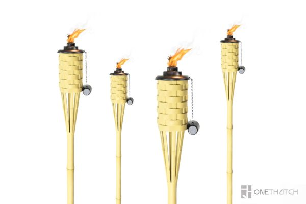 citronella flame torch - ONETHATCH