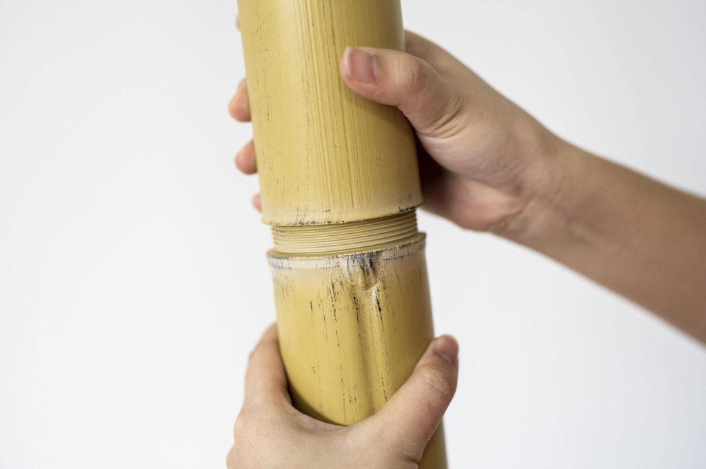 palos de bambú de plástico - OneThatch
