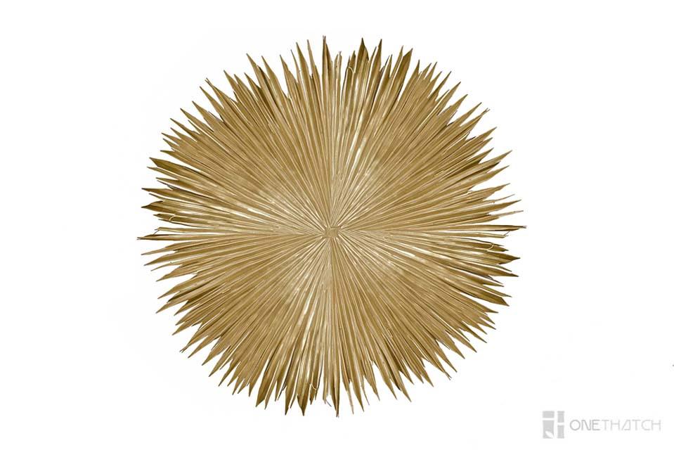 ONETHATCH PALM لوحة خشبية مستديرة