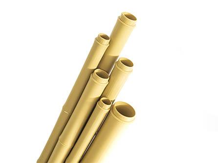 绒毡合成竹杆
